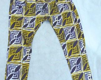 pantalon homme tissu africain