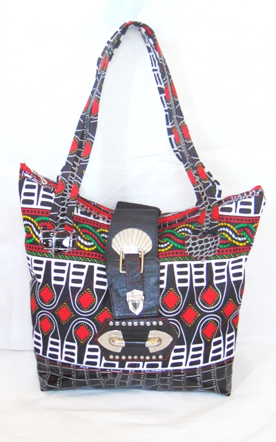 african fabric bag