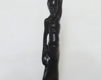 african scuptures woman pregnant