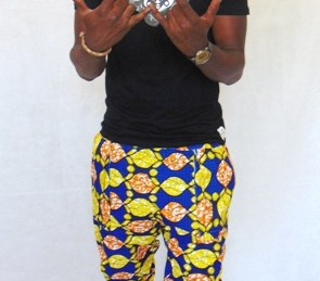 short pants african fabric
