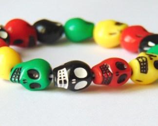Multicolored skull Bracelet