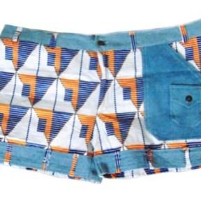culotte matelot tissu africain