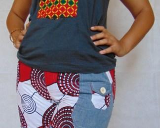 african woman short1