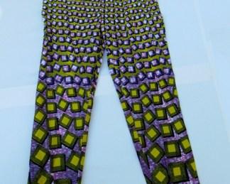 pantaloni africani design 3d
