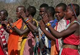 Africa dancers