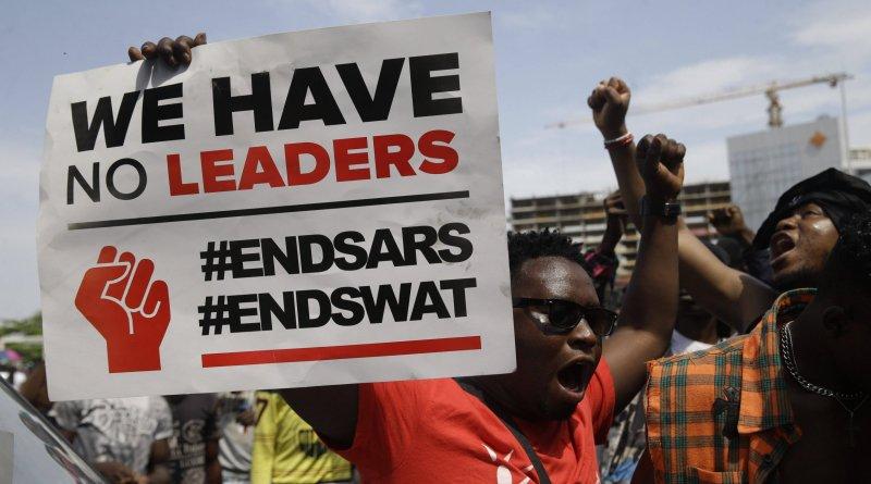 #EndSARS protesters Lagos, Nigeria