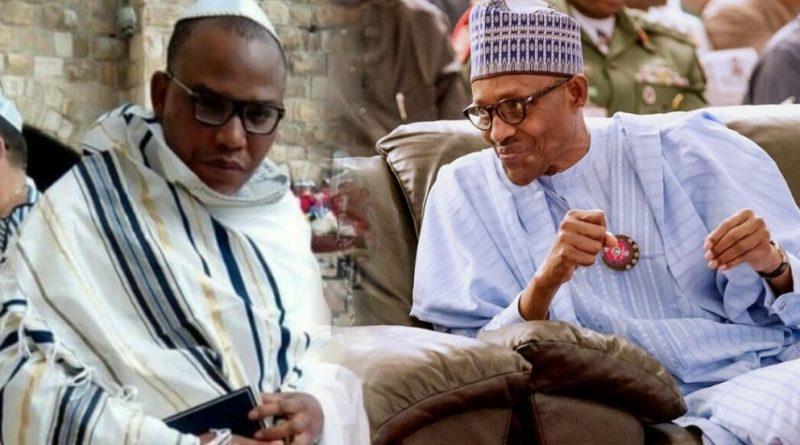 Nnamdi-Kanu-and-Muhammadu-Buhari