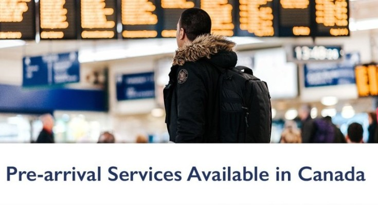 Get help before arriving in Canada