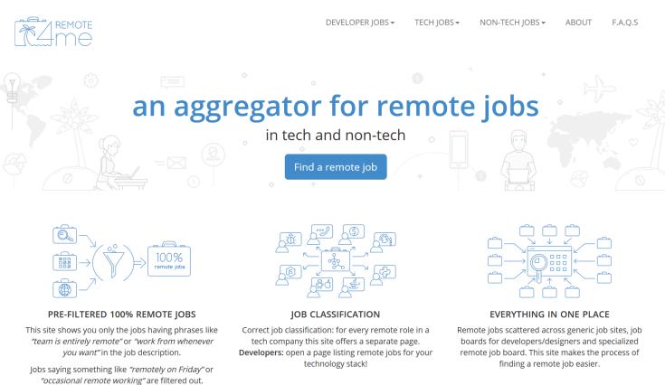 Remote4Me Jobs Board