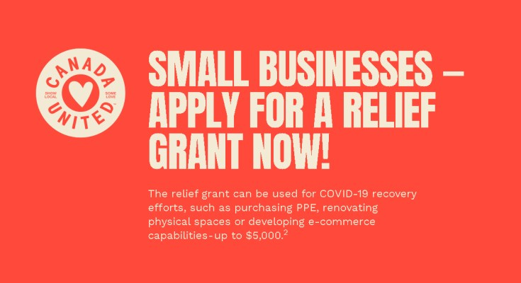 Canada United Small Business Relief Fund