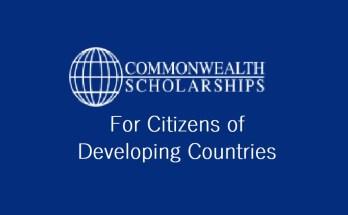 University of Guelph Undergraduate Commonwealth Scholarship