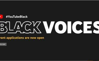 The #YouTubeBlack Voices Fund 2022 for Black creators.