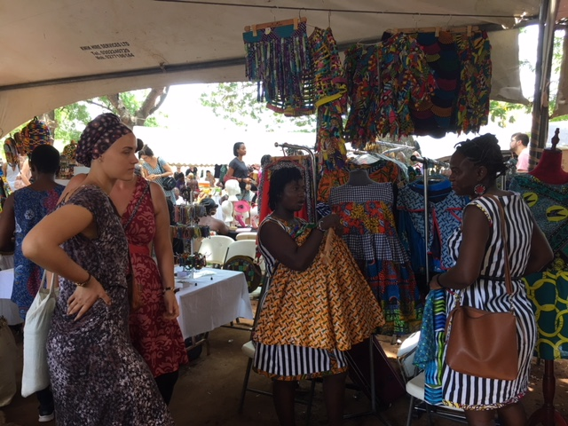 Traders in Accra