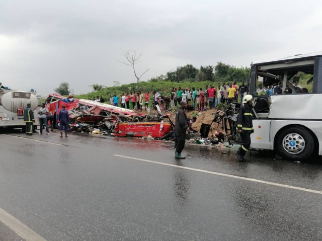 34 people killed in deadly road accident in Ghana - Africa Feeds