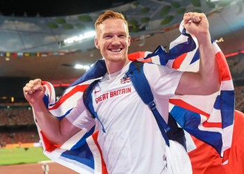 Bobsleigh : Greg Rutherford vise les Jeux d'hiver