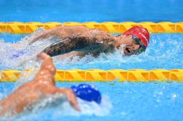 2020 Paralympic Video games – Swimming: Gold and world file for Maksym Krypak within the males's 100m backstroke S10