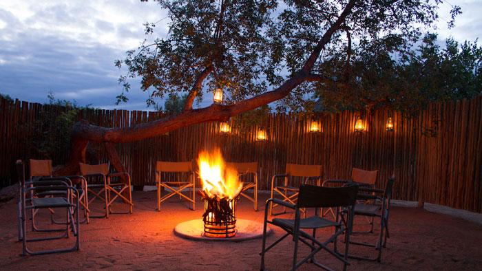 Campfire-safari