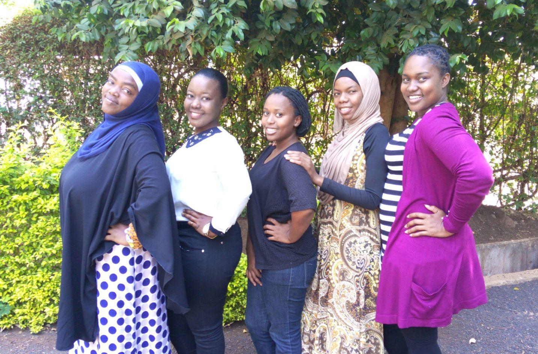 Salma Omari, Irene Tairo, Violeth Shayo, Asimwe Suedi (Project Manager), Theresia Mgoye