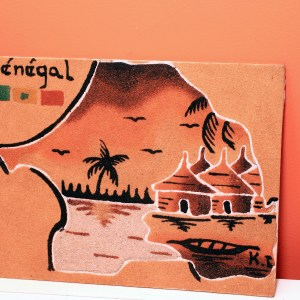 Senegal - Sand Painting
