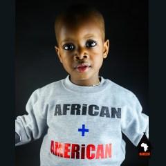 Unisex African + American Crewneck Sweatshirt Blue – Kids