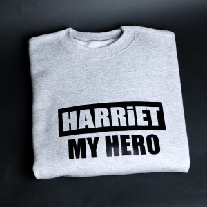 Harriet My Hero Grey & Black