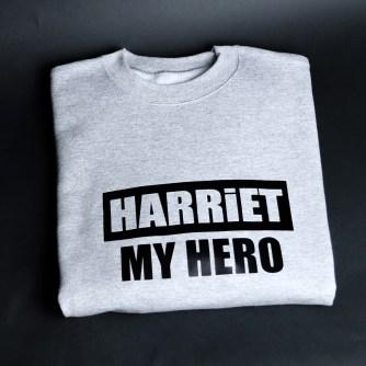 Harriet My Hero Grey & Black