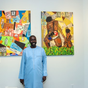 Senegalese-painter-Akassa-opens-first-solo-exhibition-at-Kente-Royal-Gallery-in-Harlem