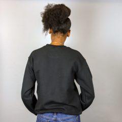 Africa in Queens Pull à col ras du cou pré-rétréci Doré – Unisexe
