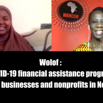 Wolof - COVID-19 financial assistance programs for African businesses and nonprofits in New York City