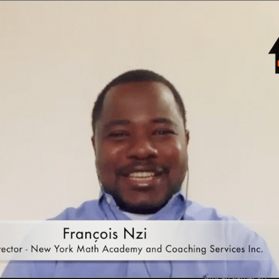 Video - François Nzi gives African parents guidance on how to effectively homeschool their children this summer amid coronavirus crisi