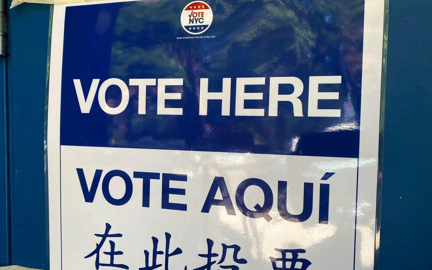 How to vote early in NYC from October 24 to November 1, 2020
