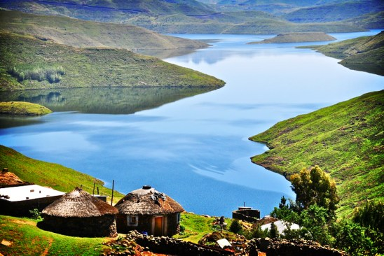 Lesotho, beautiful country, image from http://africainstitute.info
