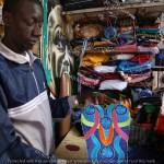 Abdoul Aziz Niass: beneficiario del progetto di microcredito a Malika. grazie al finanziamento, ha potuto acquistarsi macchine da cucire migliori, ingrandire il suo atelier e iniziare a dare lavoro ai giovani del quartiere