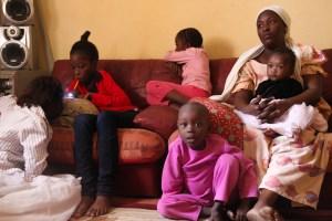 Yoni con la sua famiglia