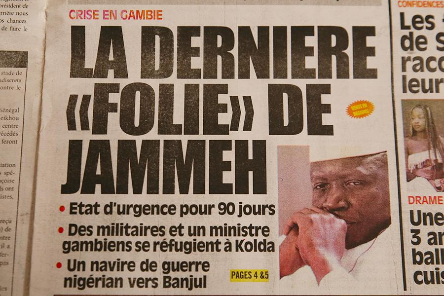 Elezioni in Gambia /9. Inizia il conto alla rovescia per Yahya Jammeh. In Senegal pronti all'intervento