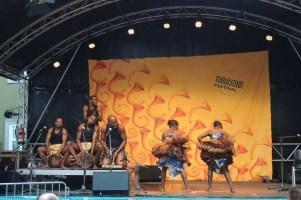 Le groupe Ndima au Rudolstadt Festival (Allemagne)