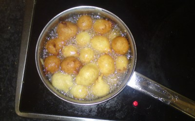 Corn and banana dumplings (Benin, Cameroon)