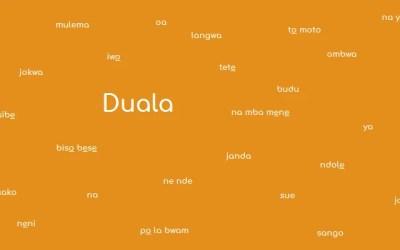 Duala or Douala language