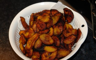 Ripe plantain fries