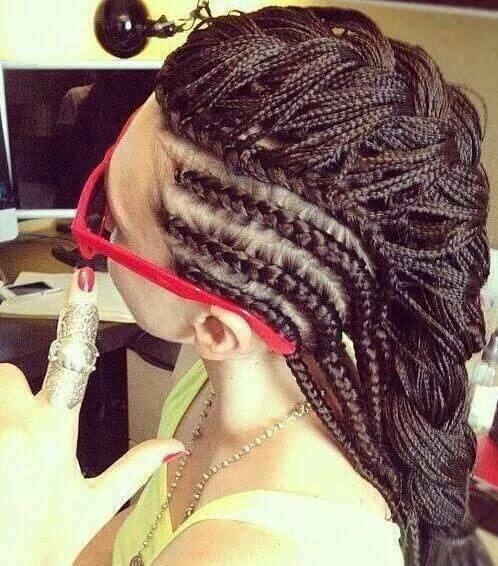 box braids hairstyle 8