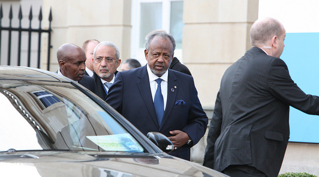 President of Djibouti, Ismail Omar Guelleh, has been in power since 1999, but how much longer can he last? Photograph by FCO.