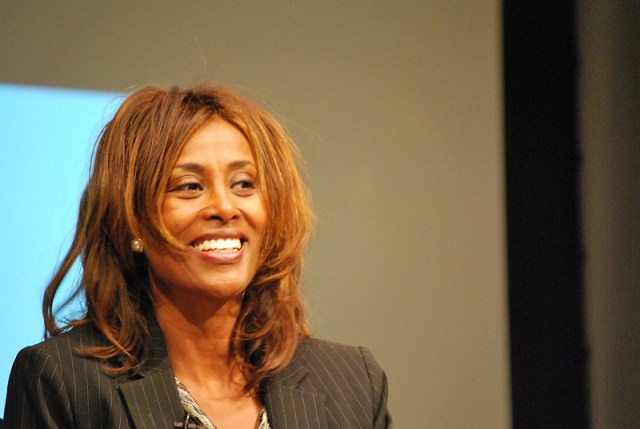 Human rights defender and women's rights activist Meaza Ashenafi became President of Ethiopia's Supreme Court in November 2018. Credit: Papillon pierre.