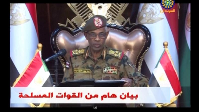 Gen Awad Ibn Auf has now been sworn in as the head of the military council that is meant to oversee a two-year transition to civilian rule in Sudan.