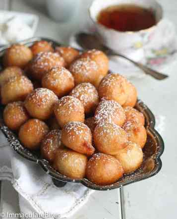 Puff Puff African deep fried dough