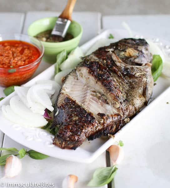 Grill Tilapia (African Style)
