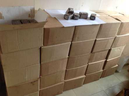 African black soap bars ready to ship