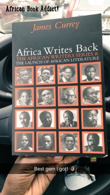 Bought this gem from the 14th Ghana International Book Fair!