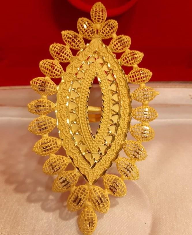 African 2 Gram Gold Minimalist Latest Best Finger Ring