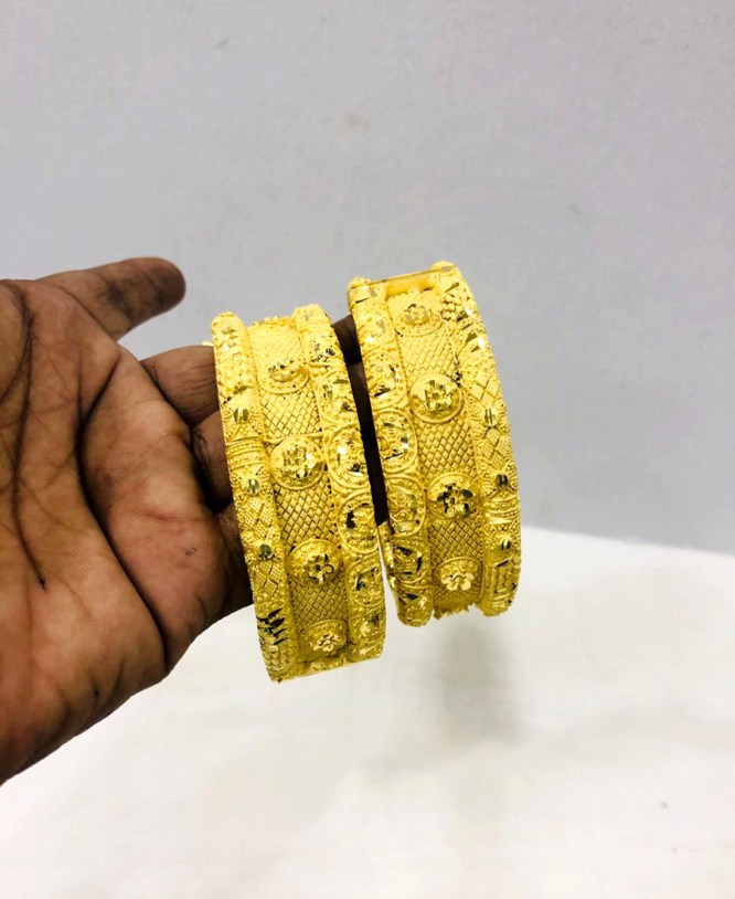 African Latest Model African Style 2 Gram Bangle