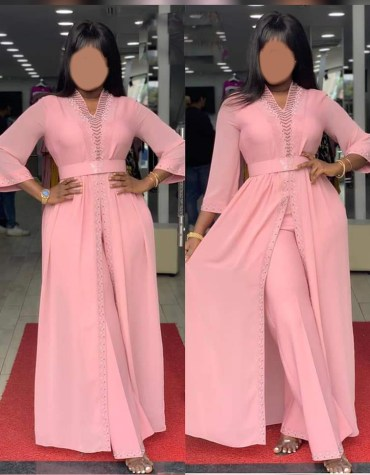 African Latest kaftan Clothing Formal Evening Dresses Party Wear For Women